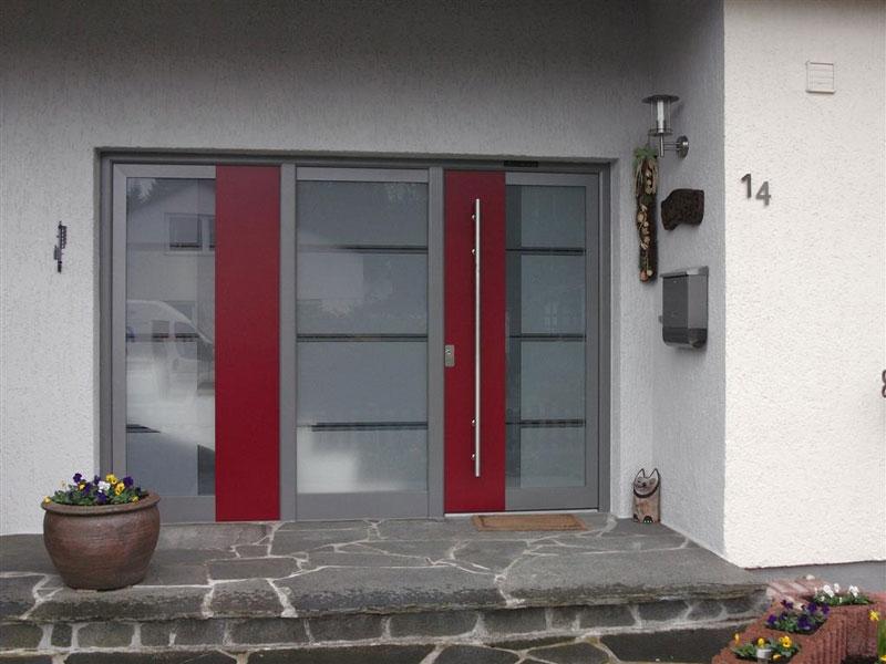 Elegant Porte Duentre Kompotherm Moderne With Changer Une Porte De Service