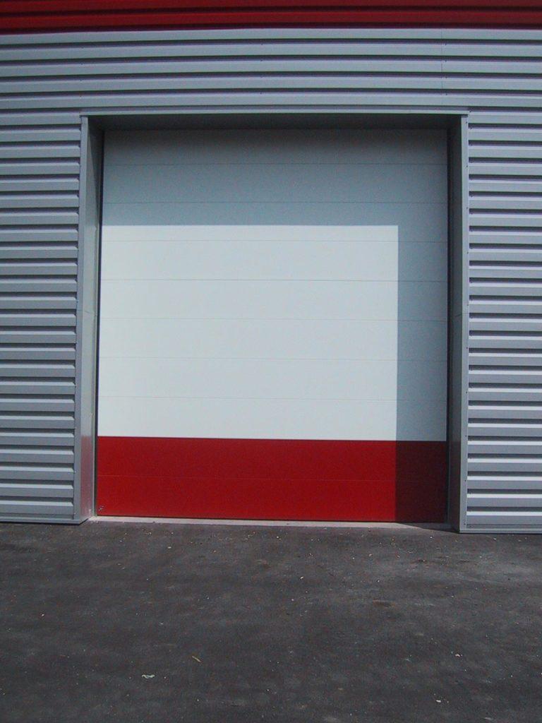 Porte industrielle